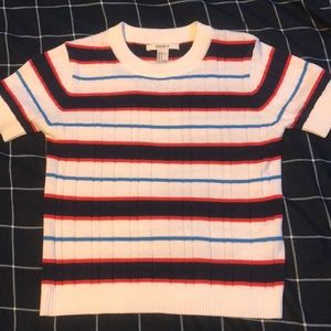 Forever 21 - Multicolored Striped Top